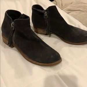 Dolce Vita gray suede booties!